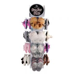 [1x48] HOME FUZZY & FRIENDS SLIPPERS DEAL (D)