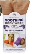 AROMA HOME MICROWAVEABLE BODY WRAP - TAUPE (D)