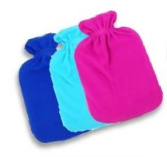 FINESSE HOT WATER BOTTLE - FLEECE COVERED