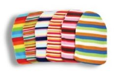 LIFE HOT WATER BOTTLE + STRIPEY FLEECE COVER