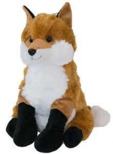 700ML KUDDLI FRIENDS NOVELTY COVER & HWB- FOX 45CM(D)