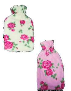 [12] LIFE HOT WATER BOTTLE + FLORAL COVER *EXTRA 5% P.O.R!*