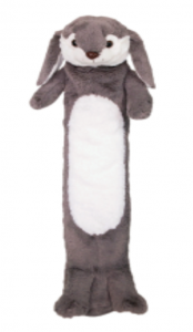 CHILDREN'S LONG HOT WATER BOTTLE - RAILLY THE RABBIT