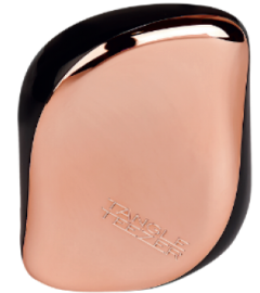 *NEW* TANGLE TEEZER COMPACT STYLER HAIRBRUSH, ROSE GOLD BLACK