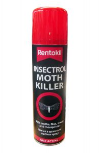 RENTOKIL PEST CONTROL - INSECTROL MOTH KILLER SPRAY