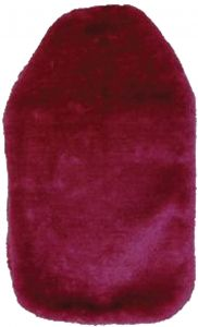 LIFE HOT WATER BOTTLE COVER - FUR - ASSTD COLOURS