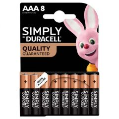 Duracell Simply Batteries AAA 8-Pack