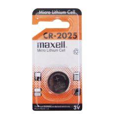 MAXELL LITHIUM BATTERIES - CR2025