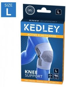 KEDLEY ELASTICATED KNEE SUPPORT- LARGE