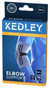 KEDLEY ELASTICATED ELBOW SUPPORT- M/L