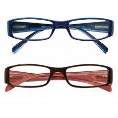 READYSPEX READING GLASSES-2.00 LADIES PLASTIC 3 COLOURS