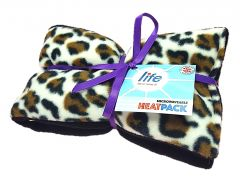 Life Luxury Lavender Heatpack - Leopard