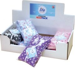 *NEW* LIFE HEALTHCARE LAVENDER HEATPACK DEAL & CDU