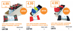 LIFE HEALTHCARE WHEAT WARMERS DEAL - 2 + 1 FREE!