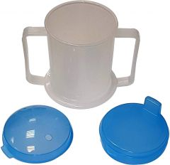 LIFE HEALTHCARE ADULT DRINKING CUP WITH 2 LIDS