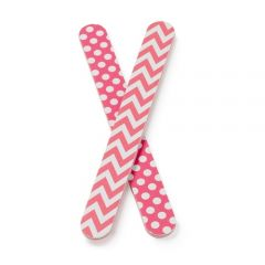 Manicare 2 Nail Files Patterned
