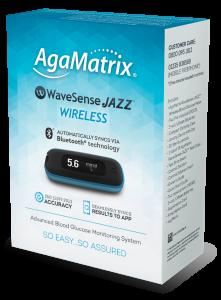 *New* Glucometer Bluetooth Agamatrix Wavesense Wireless Jazz Kit