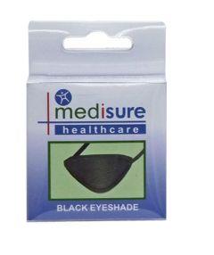 Medisure Eyeshade Black Fabric