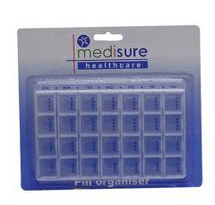Medisure Pill Organiser - 28 With Tray