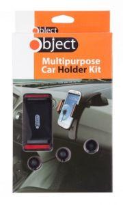 [6] OBJECT MOBILE PHONE MULTIPURPOSE CAR HOLDER KIT (D) *EXT