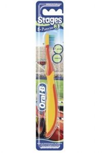 **DISCONTINUED** [12] ORAL-B KIDS T/BRUSH STAGE 3 5-7YEARS