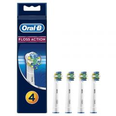 [12] ORAL-B POWER REFILLS FLOSS ACTION 4CT (D)