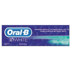 [12] ORAL-B T/PASTE 3D WHITE VITALIZE 75ML (D) *EXTRA 10% OF