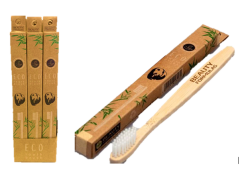*New* Eco Friendly Bamboo Toothbrush