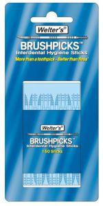 WELTER'S INTERDENTAL BRUSHPICKS - PACK OF 150