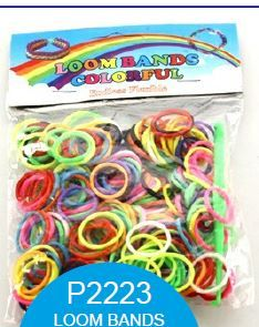 [12] LOOM BANDS - ASSORTED (D) *EXTRA 20% OFF*