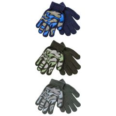 [12] BOYS GLOVES - CAMOUFLAGE(D)