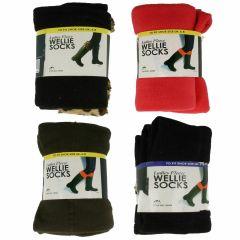 Ladies Fleece Wellies Socks *10% OFF!*