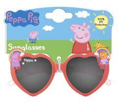 [6] DISNEY SUNGLASSES - PEPPA PIG HEART SHAPE (D)
