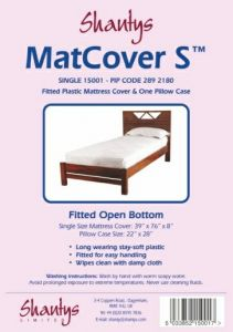 SHANTYS MATTRESS COVER - SINGLE BED