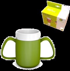 ORNAMIN THERMAL MUG - 2 HANDLES - GREEN