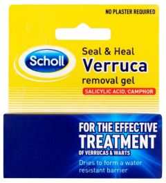 Scholl Seal And Heal Verrucca Gel 10mlx6