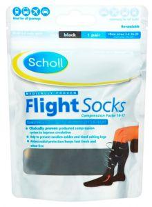 Scholl Flight Socks Cotton Feel Size 3-6 *10% OFF!*