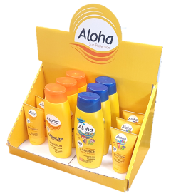 [1x24] ALOHA COUNTER DISPLAY DEAL 5% ON DEAL