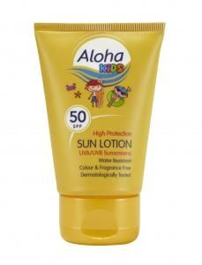 [12] ALOHA KIDS POCKET SUN LOTION POCKET PACK SPF 50 50M (D)