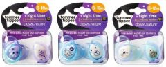 TOMMEE TIPPEE CTN NIGHT TIME SOOTHERS 6-18M