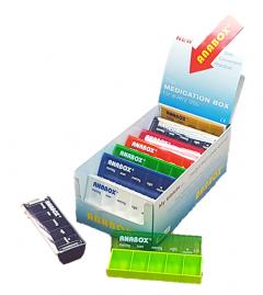 ANABOX DAILY - MULTI-COLOUR - 16PC DISPLAY BOX