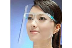 *NEW* REUSABLE FACE SHIELD GLASSES