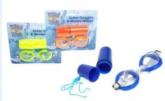 PMS JUNIOR EYE GOGGLES & MONEY HOLDER (D)