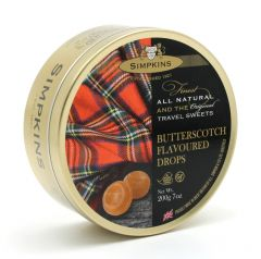 **DISCONTINUED**[6] 0237  SIMPKINS TRAVEL SWEETS BUTTERSCOTC