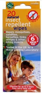 TRAVELS MOSQUITO WIPES (D)