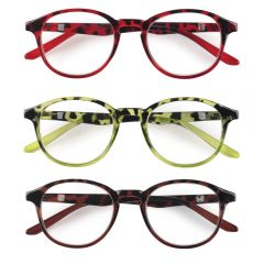 *NEW* READYSPEX LARGE FRAMED PLASTIC FASHION READING GLASS ,