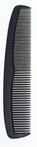 [12] FINESSE BLACK COMBS - COARSE/FINE LARGE(D)