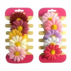[12] 5PC FLOWER ON ELASTIC(D)