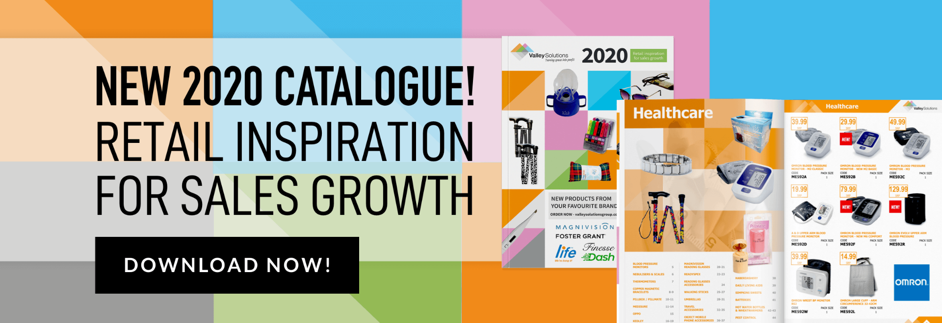 New 2020 catalogue! Retail inspiration for sales growth. Download now.