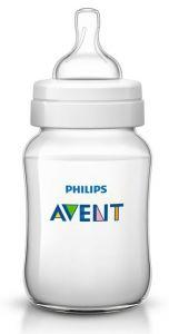 [4] AVENT CLASSIC+ FEEDING BOTTLE 260ML